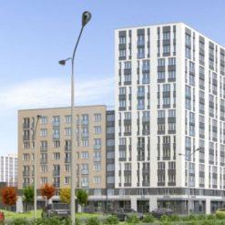 В «Академическим» уже вовсю идет строительство нового - 11-го квартала.