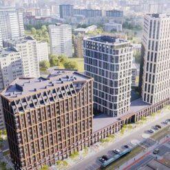 Жилая экосистема Онежская в Екатеринбурге
